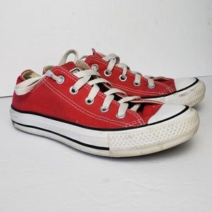 🎉Sale Converse Red Low Cut Sneakers